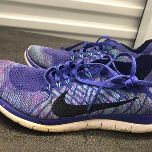 2510f9f992f Women s Nike Free 4.0 Flyknit Running Shoe Size on Poshmark
